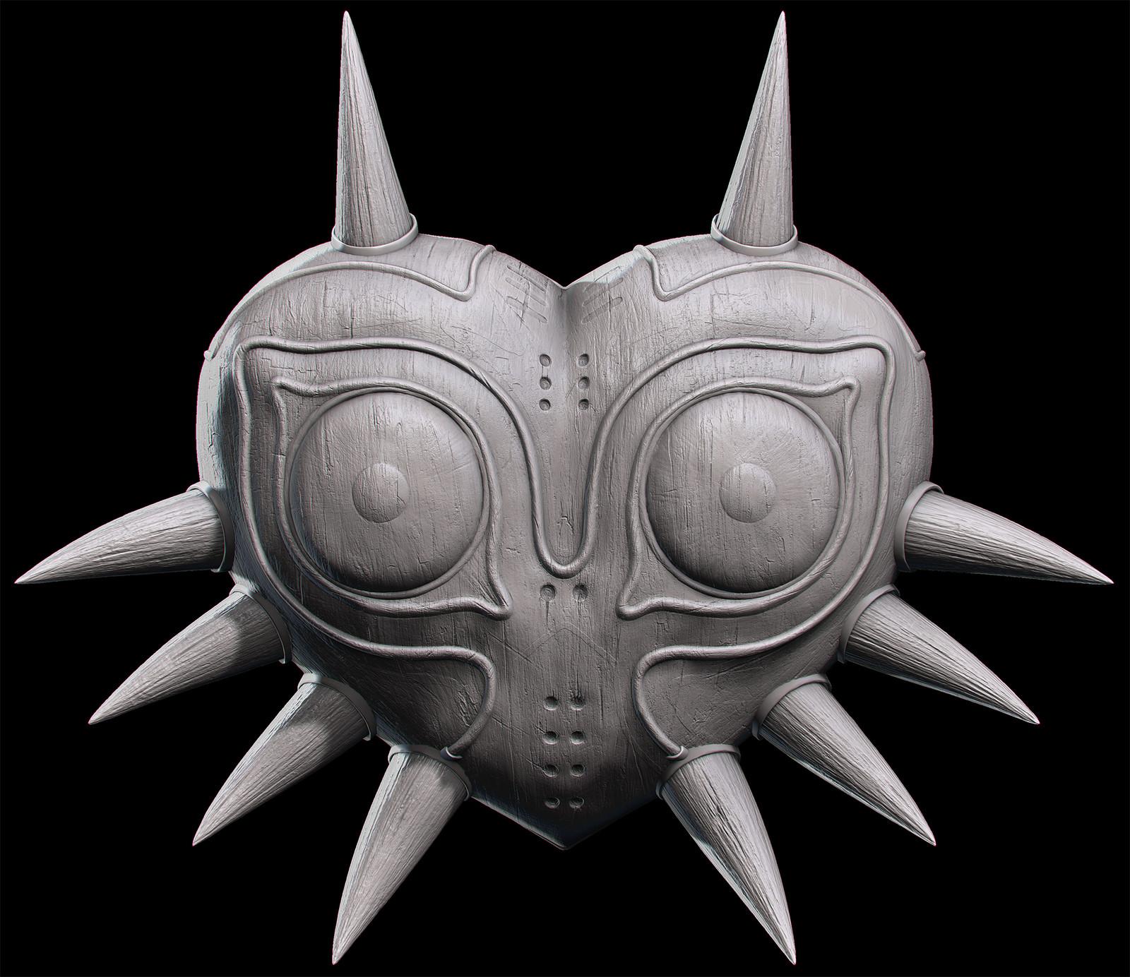 Majoras Mask Remaster Sculpt