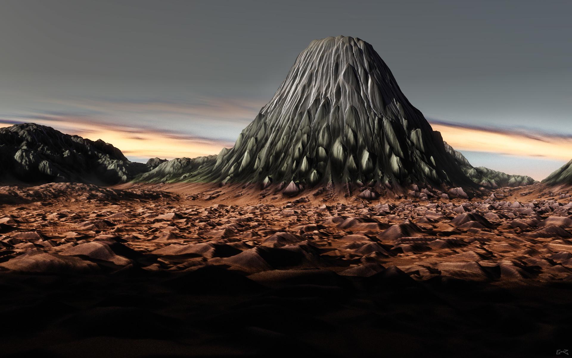 ArtStation - The Volcanic Plains, Ean Mering