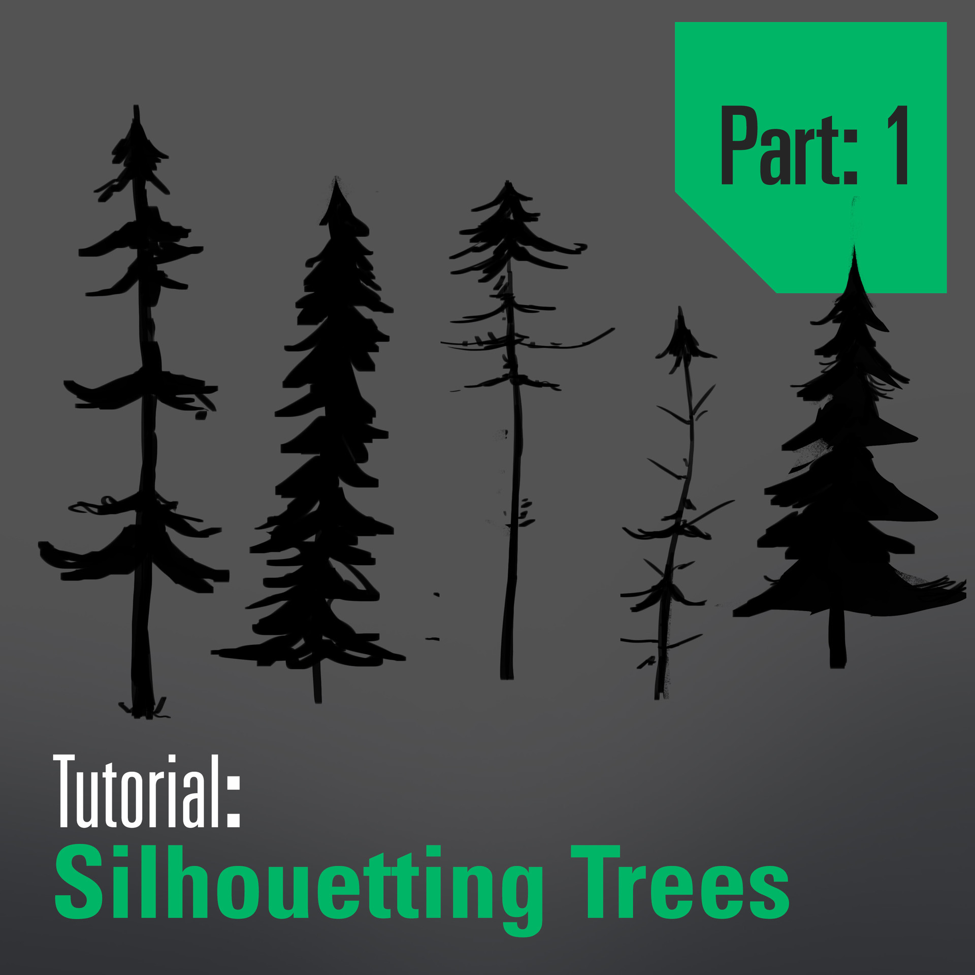 Tutorial - Drawing and Designing Trees - Part 1
