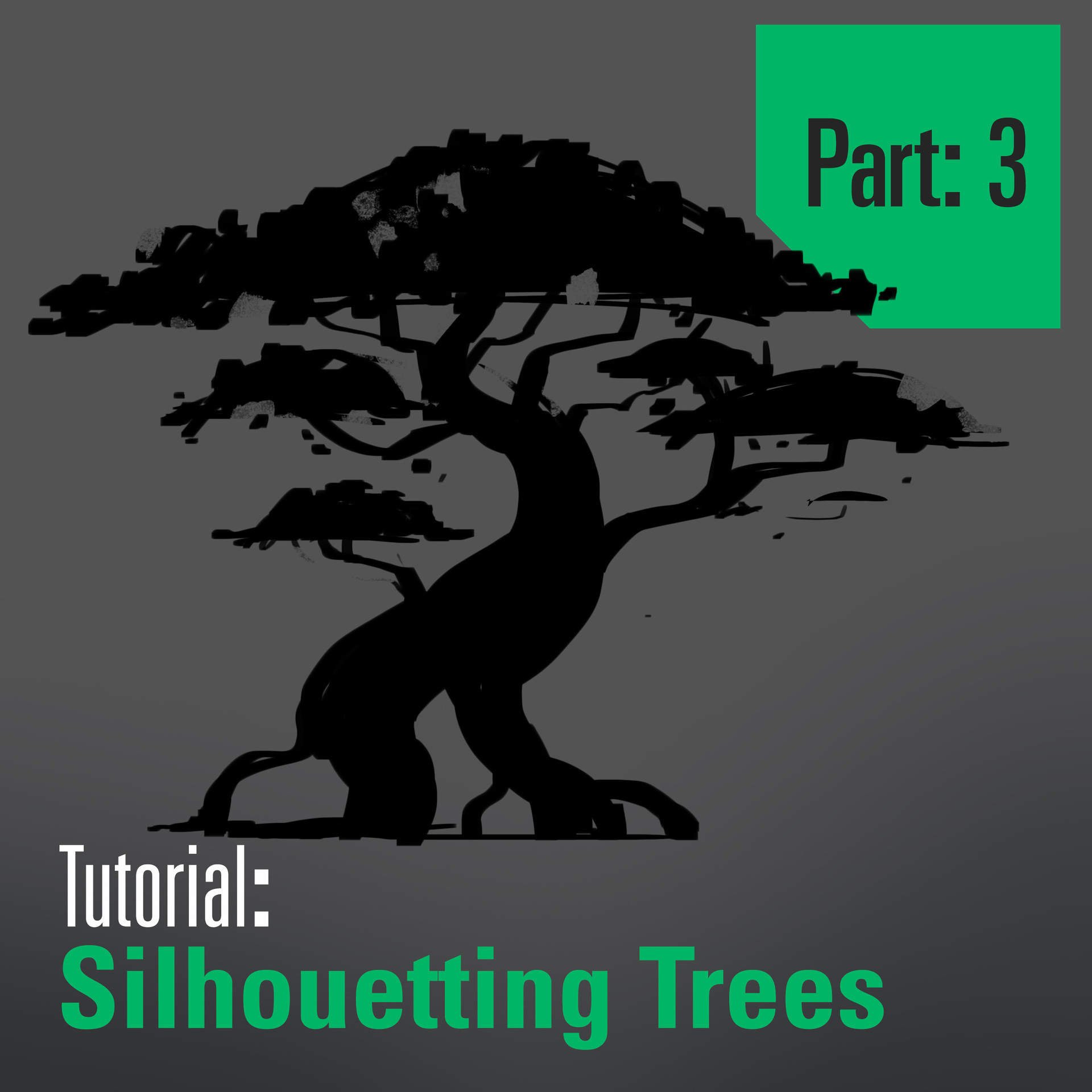 Tutorial - Drawing and Designing Trees - Part 3