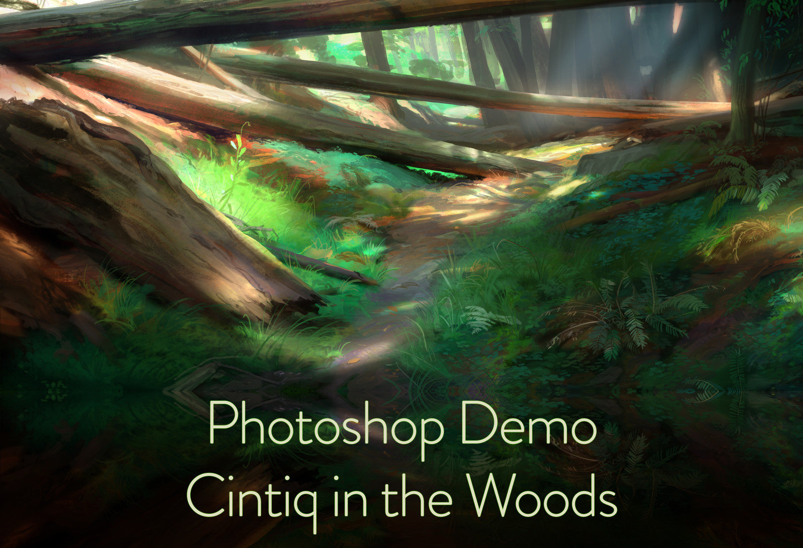 Cintiq Companion in the Woods - Demo