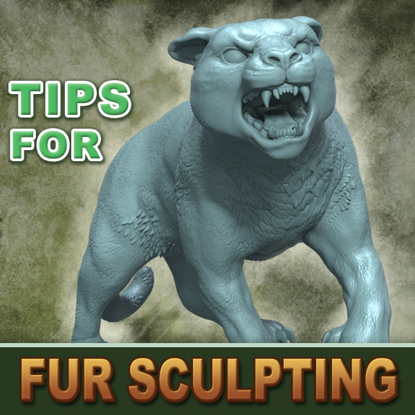 Sculpted Fur - Tutorial