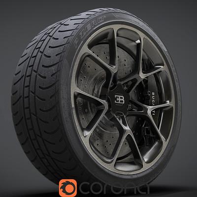 Bugatti Chiron Wheel Rim