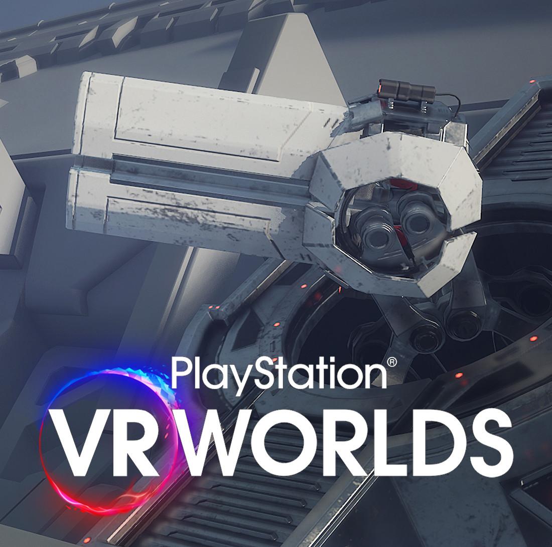 Playstation VR Worlds - Assets