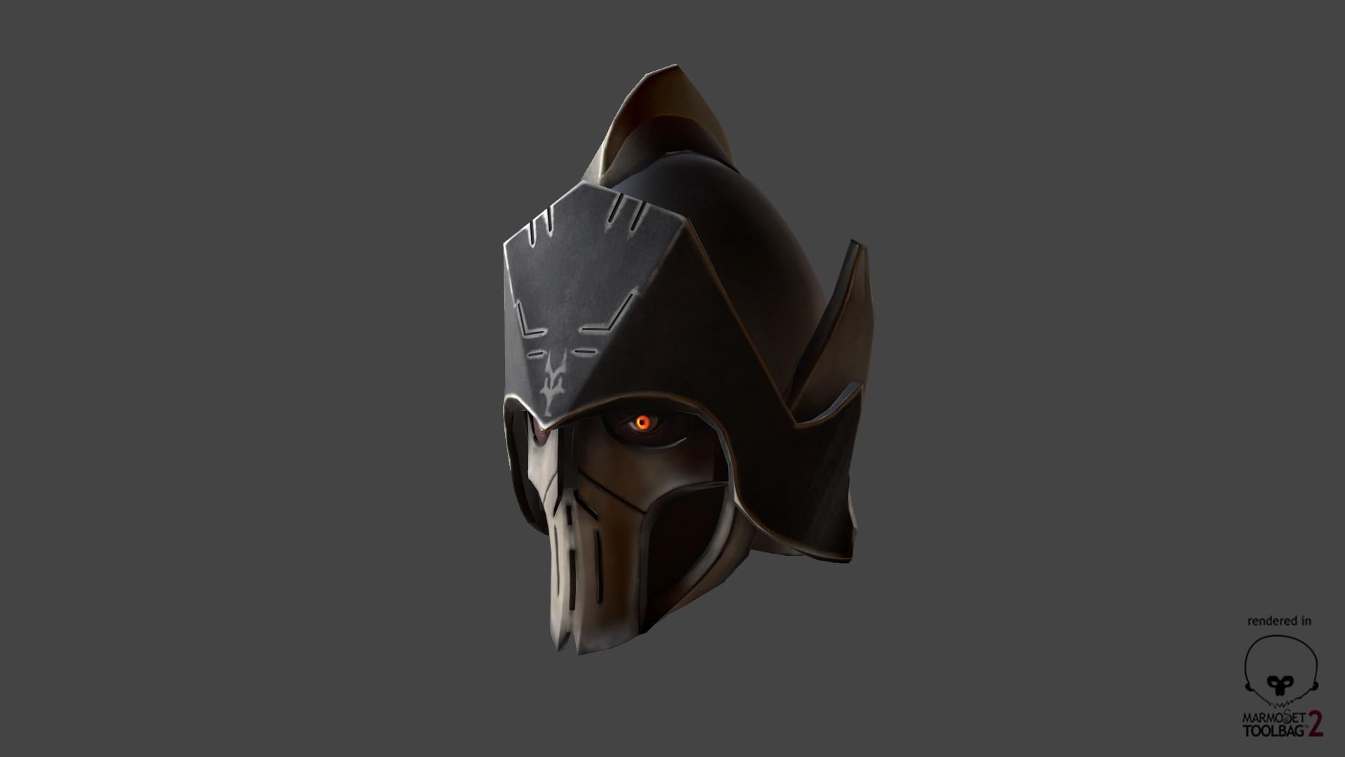 Artstation Darth Bane S Helmet Star Wars The Clone Wars Piotr Bienkowski