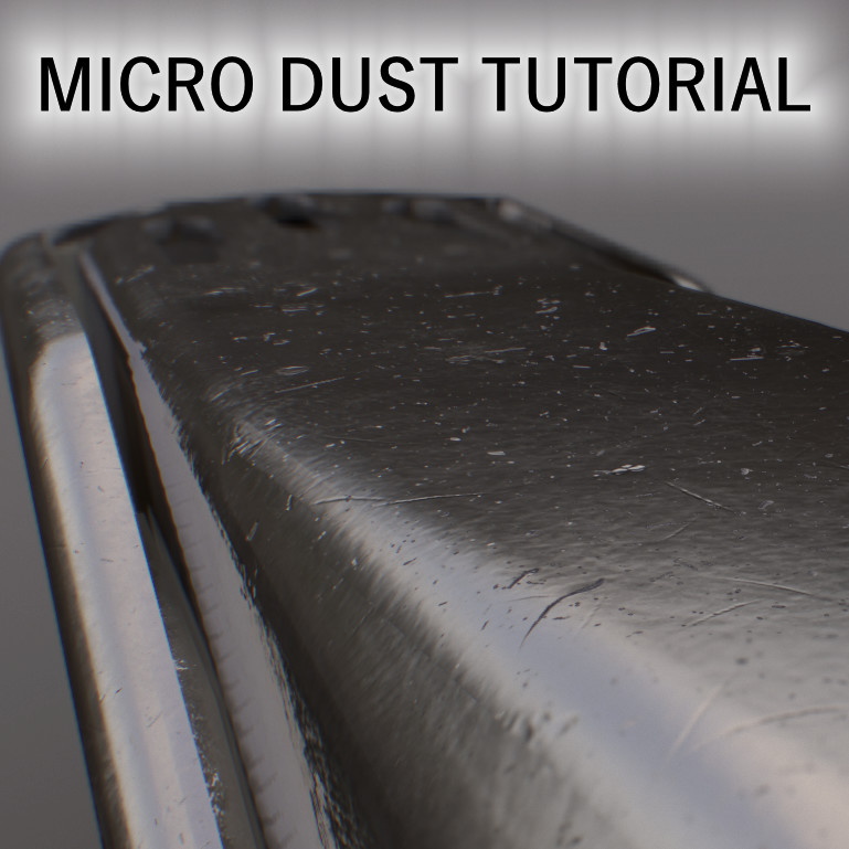 Micro-Dust Material Tutorial