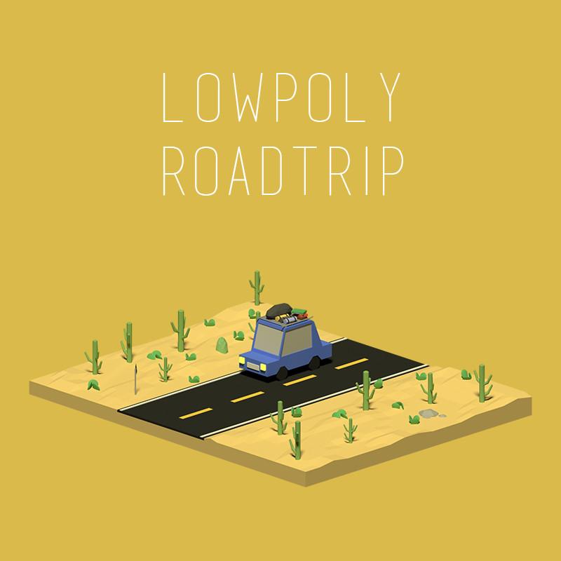 Lowpoly Road Trip