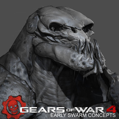 Gears of War 4 - Early Swarm Concepts