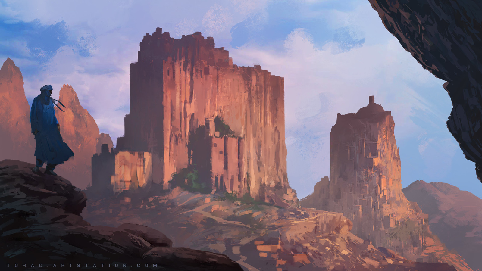 Pillars of the sun
