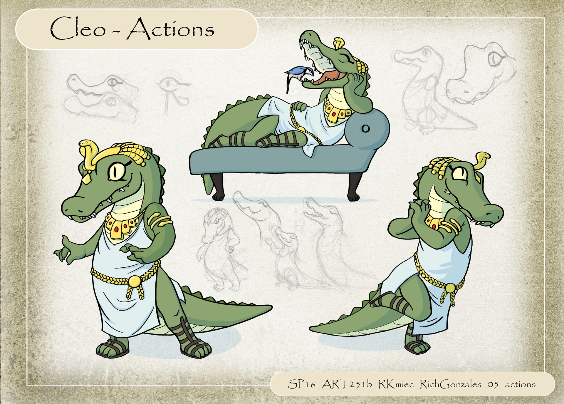 Cleo - character design