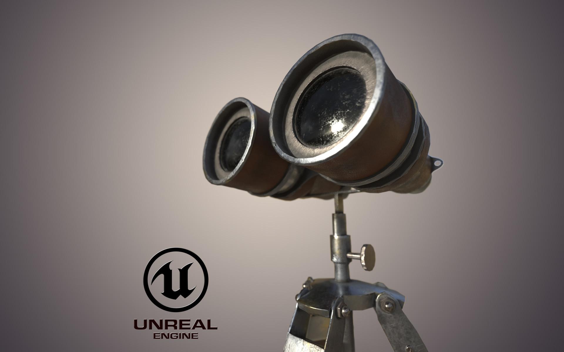 Binoculars telescope PBR