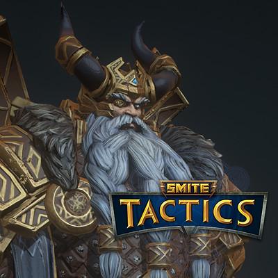 Smite tactics: Odin