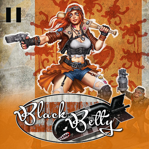 Black Betty 2D Works