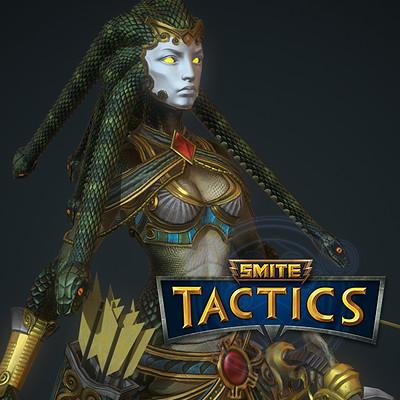 Smite Tactics: Medusa