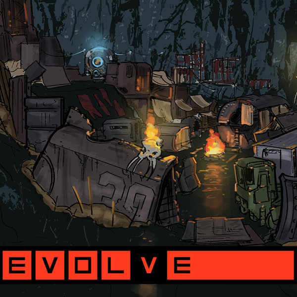 EVOLVE Environment Sketches: Hunting Camp