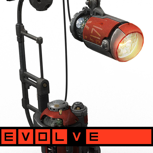 "EVOLVE ""LocoTech"" Prop Concepts: Lamps and Lights"