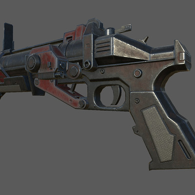 Rally 3d studio gun 1