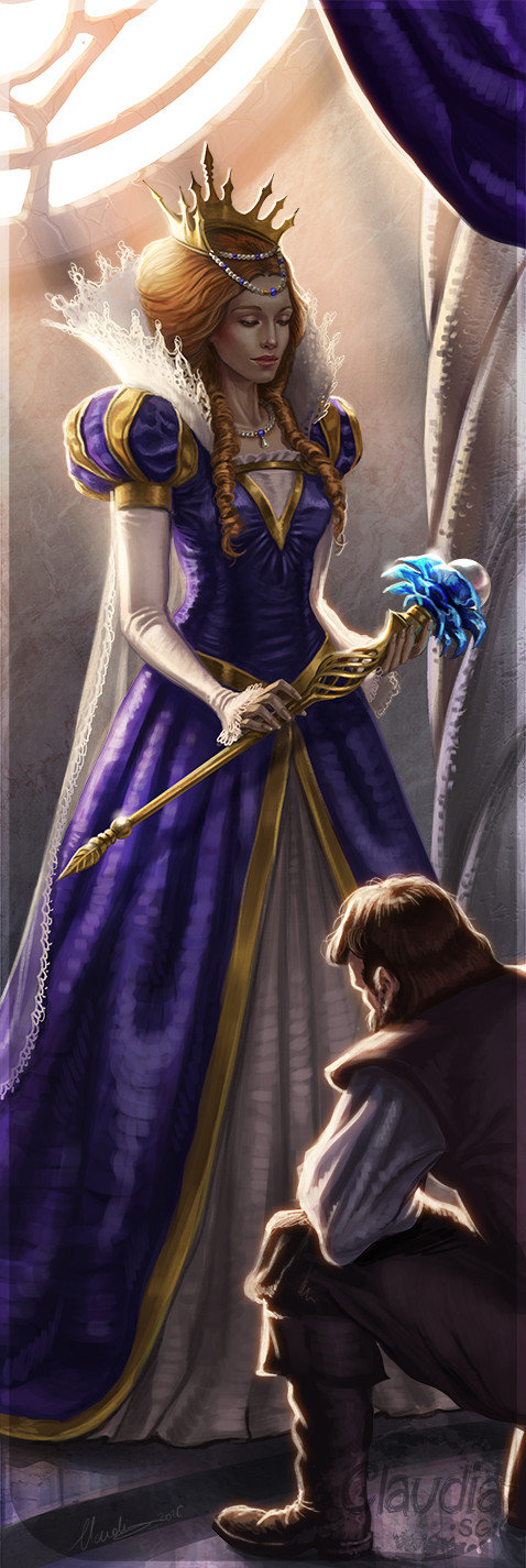 About >> ArtStation - Blue Rose Race RPG, Claudia SG Ianniciello
