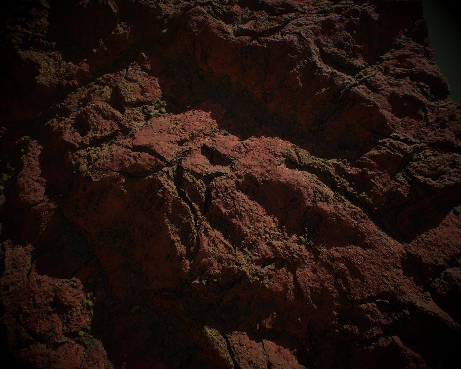 Red Rock - 100% Substance Designer