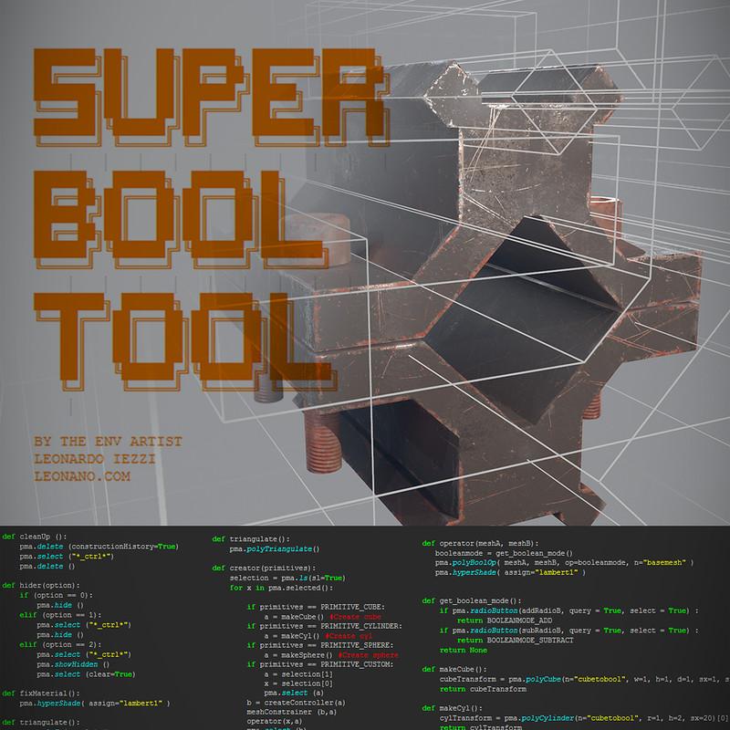 Super Bool Tool + Boolean workflow Recap