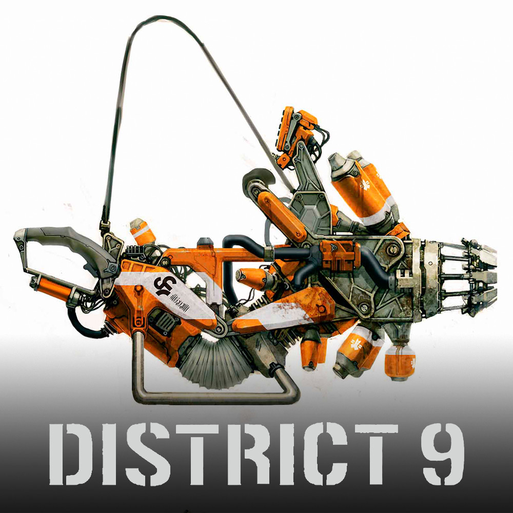 ArtStation - District 9 - Weapons and Props, WETA WORKSHOP ...
