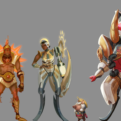 Perma death 000c char all lineup rendered