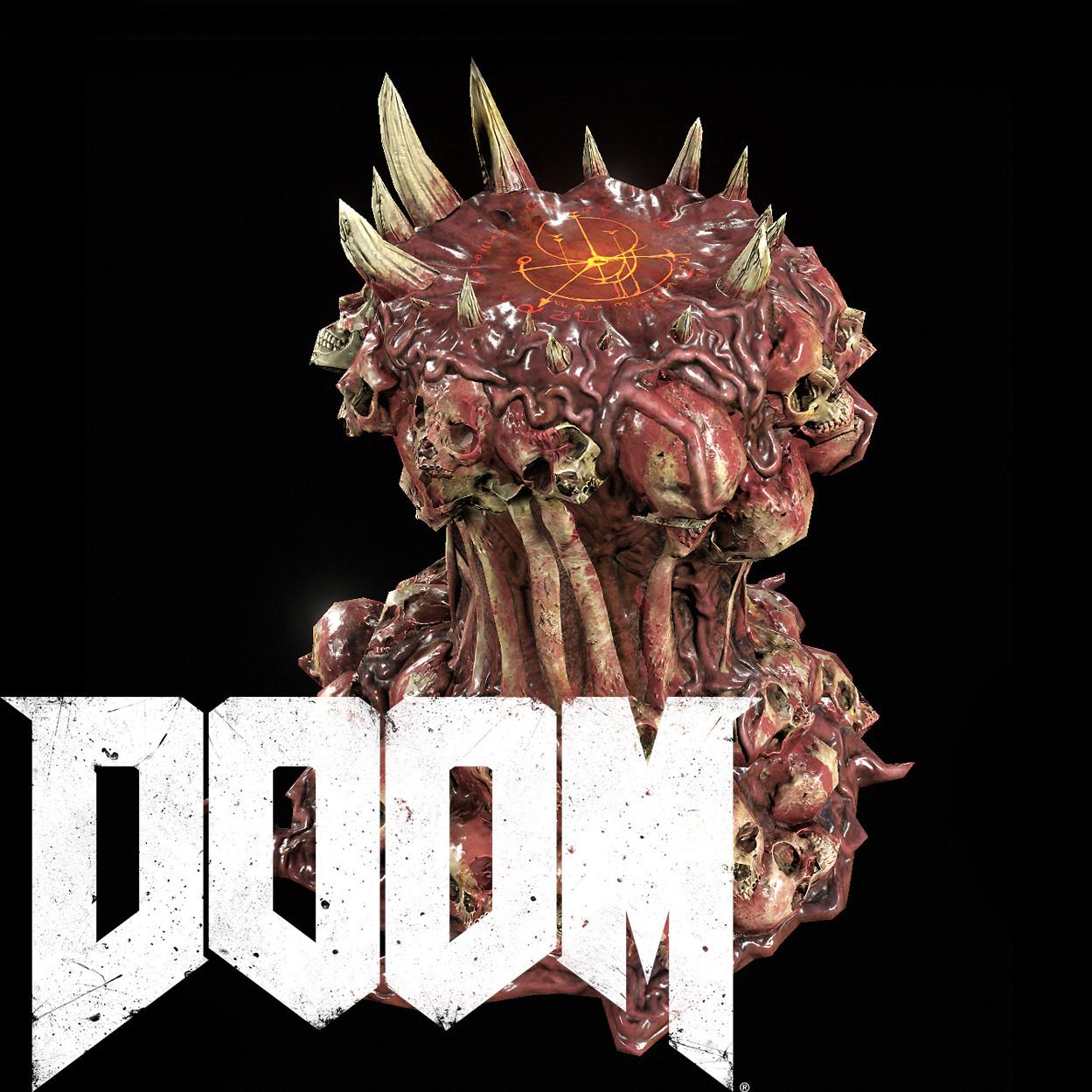 ArtStation - Doom prop, Sup Choi