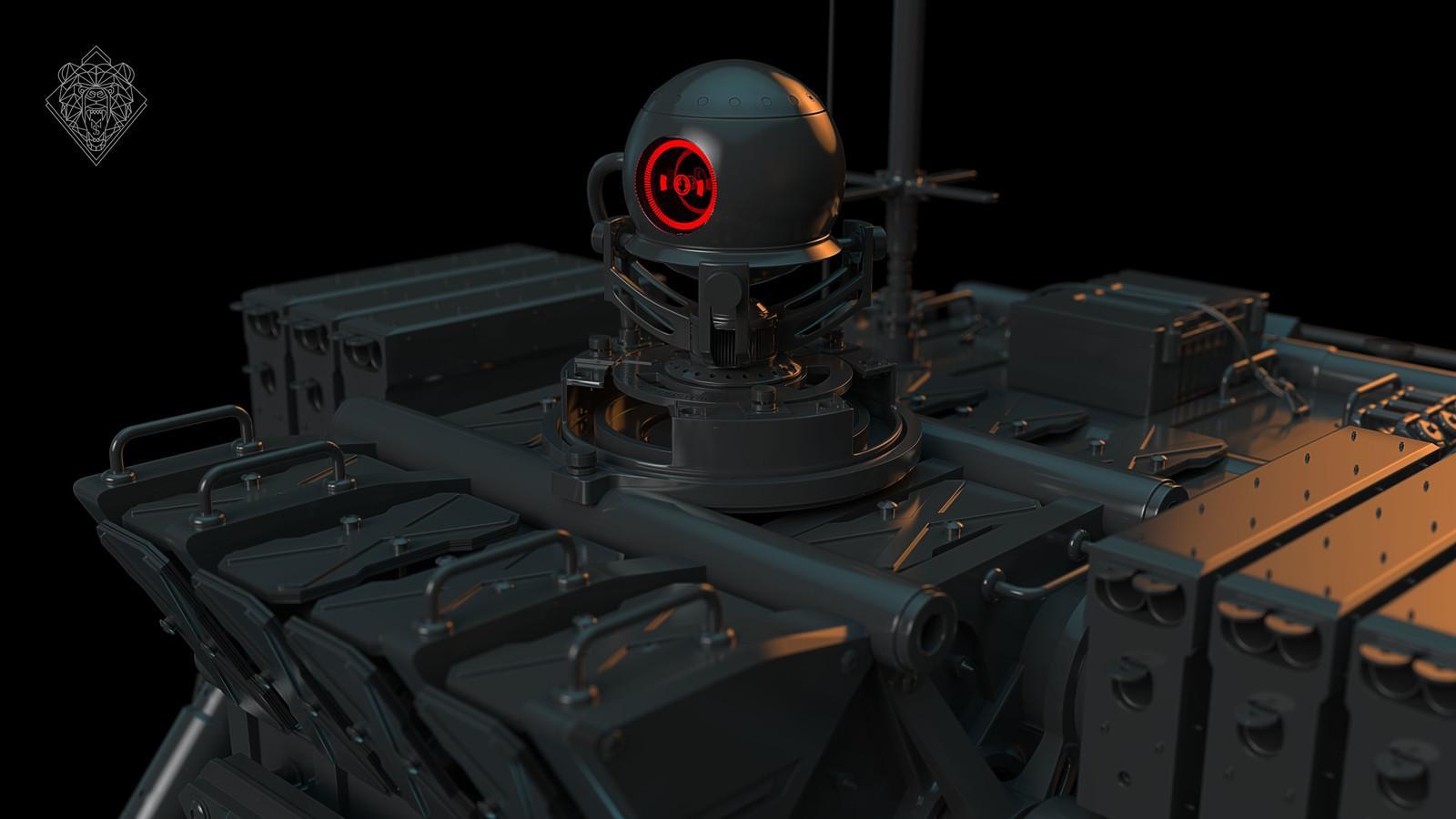 Cyclops - 3D Mech concept