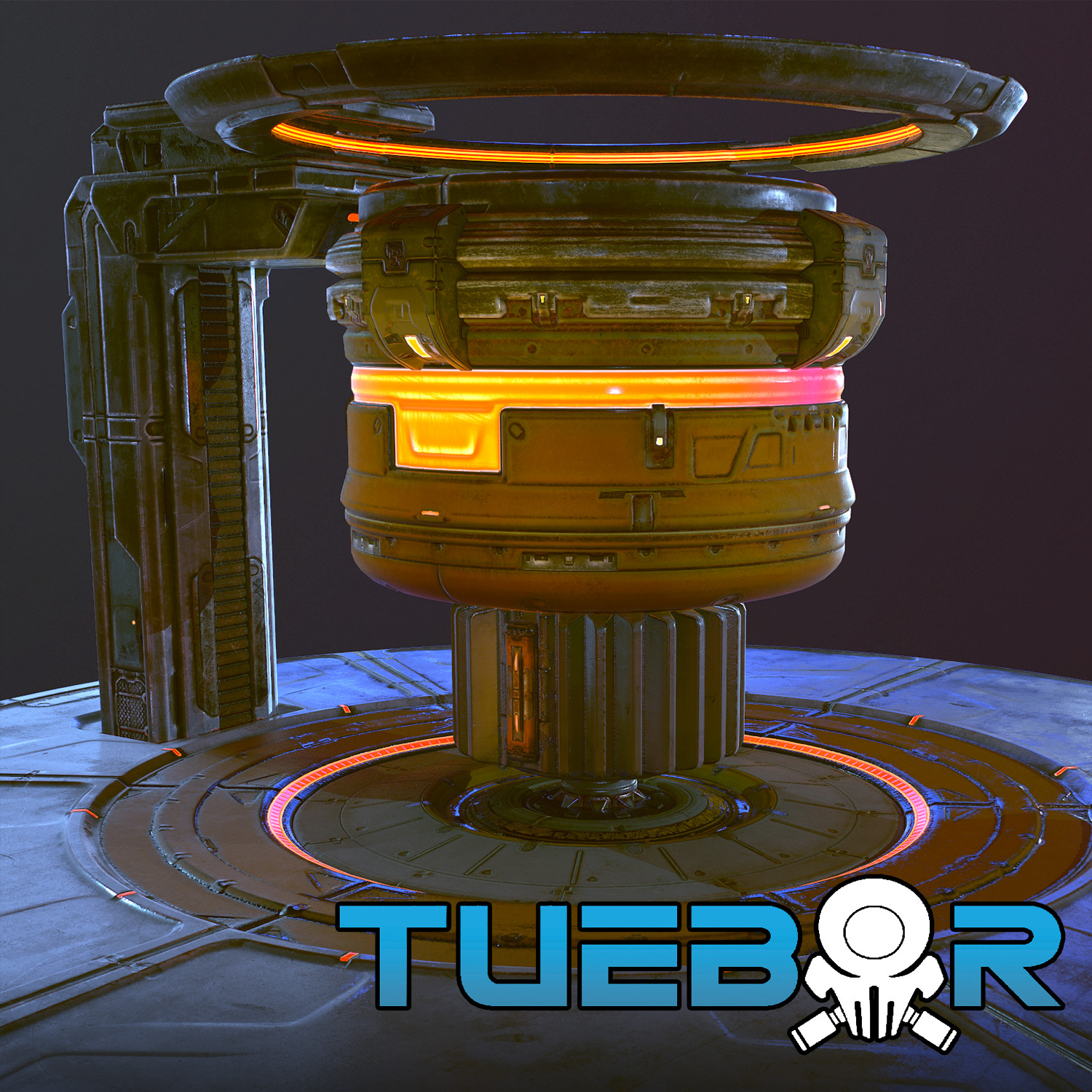 Tuebor - Reactor Hero Asset