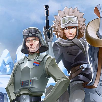 """Star Wars: Galactic Defense"" Characters"