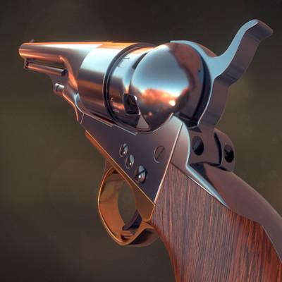 Colt  Army 1860 revolver