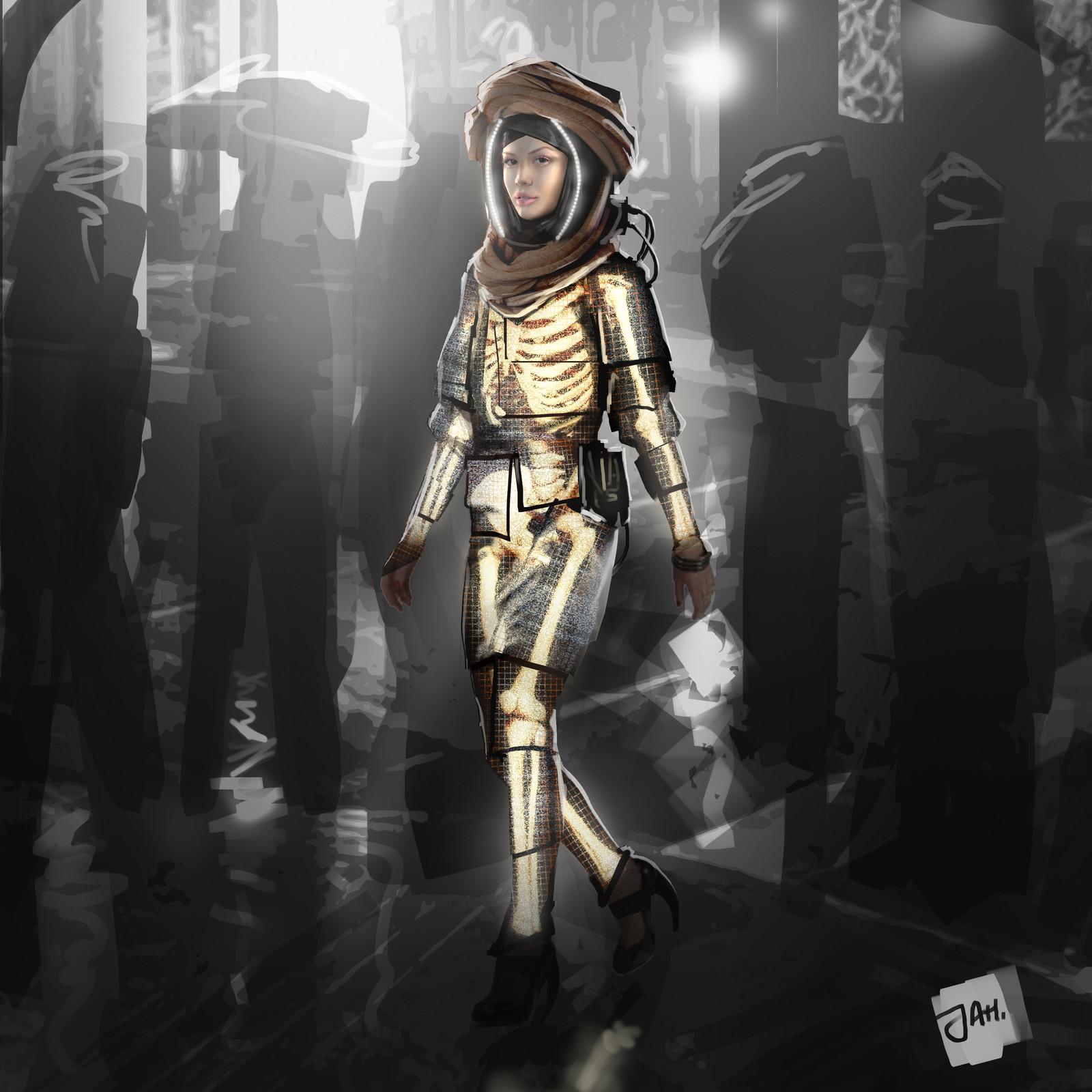 Cyberpunk - Dia de los Muertos