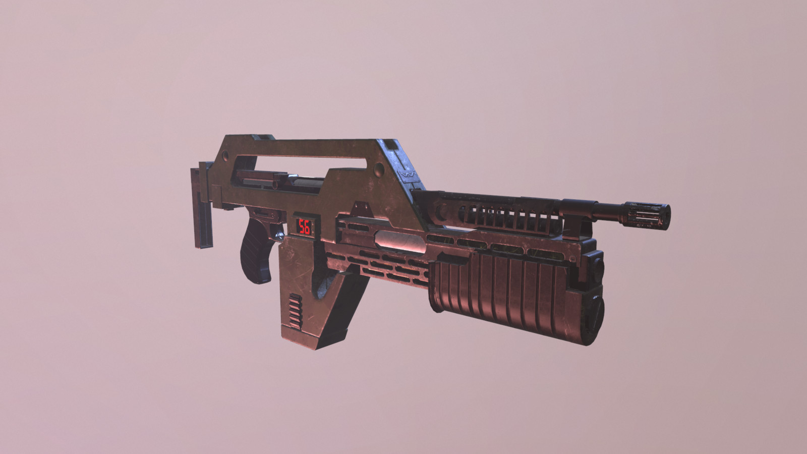 M4A1 Pulse Rifle from the ALIENS Series
