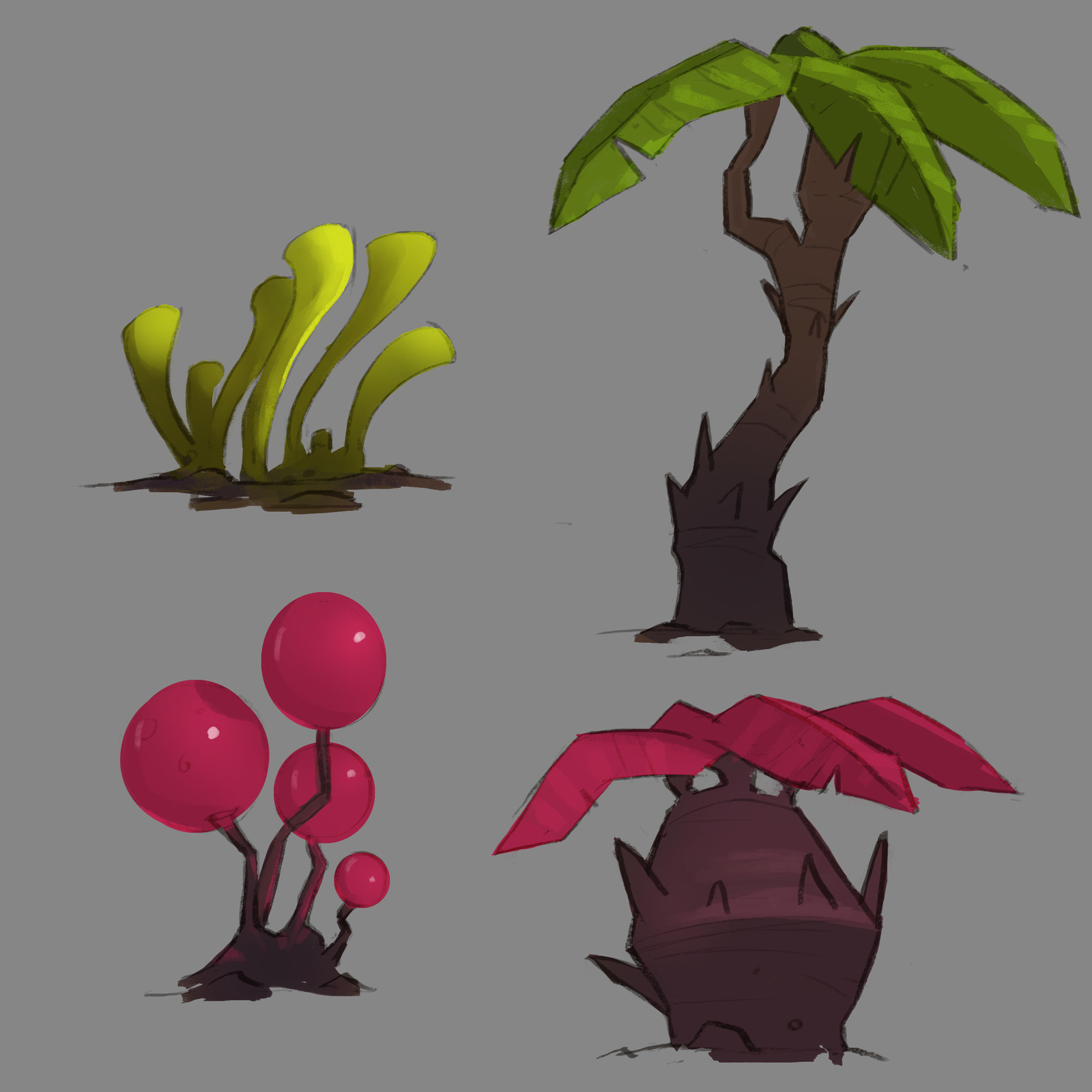 Various Jungle Concepts