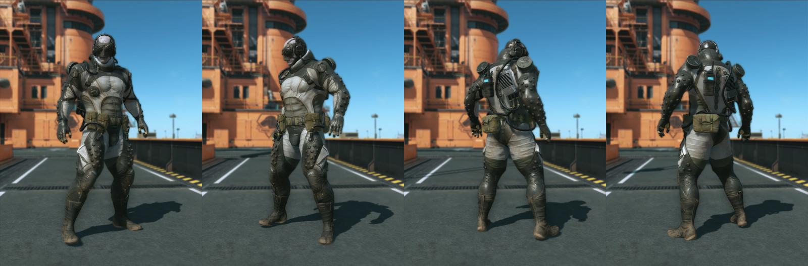 Metal Gear Solid V: The Phantom Pain - misc work