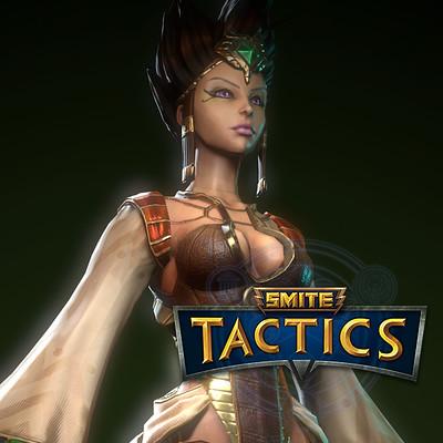 Smite Tactics: Serqet