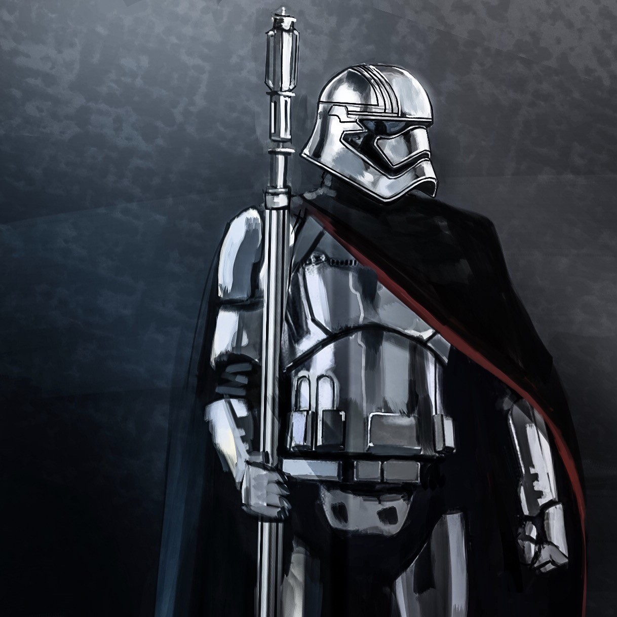 Phasma and her Staff