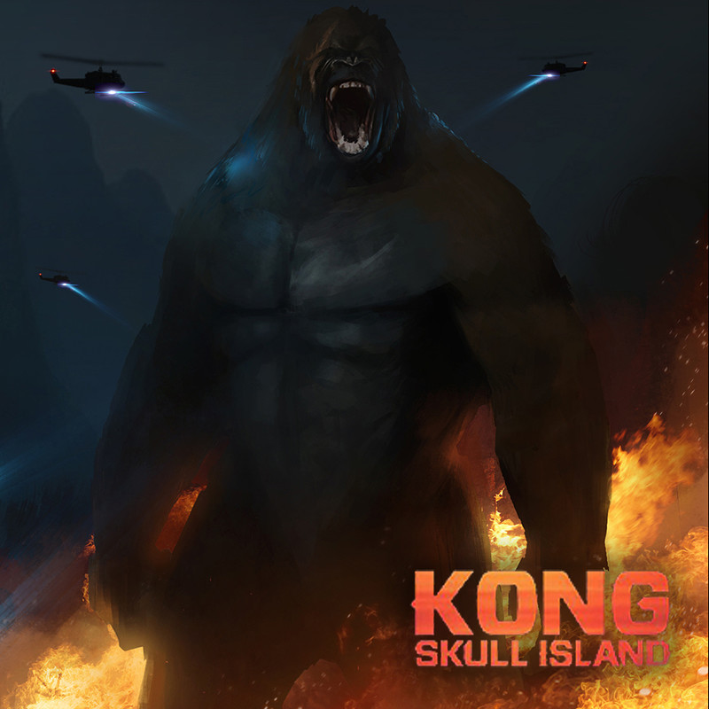 Kong Skull Island (2017) Concept Art