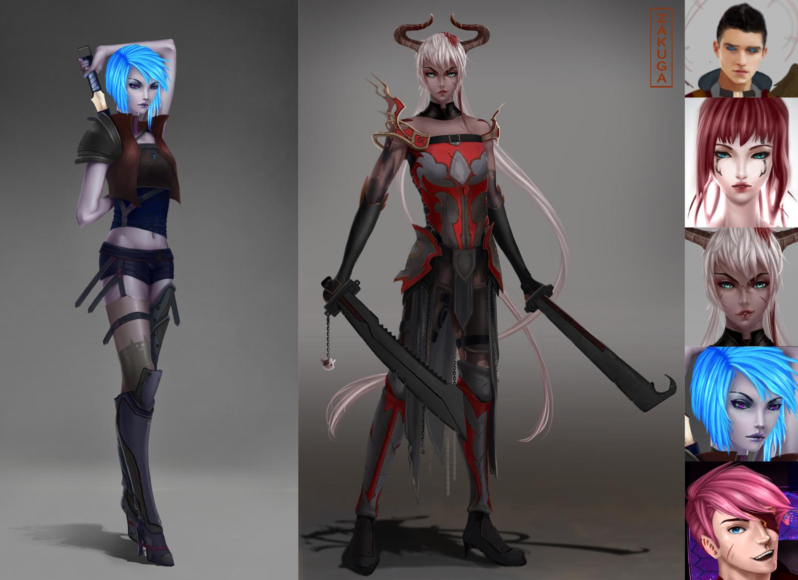 Character Designs Dump