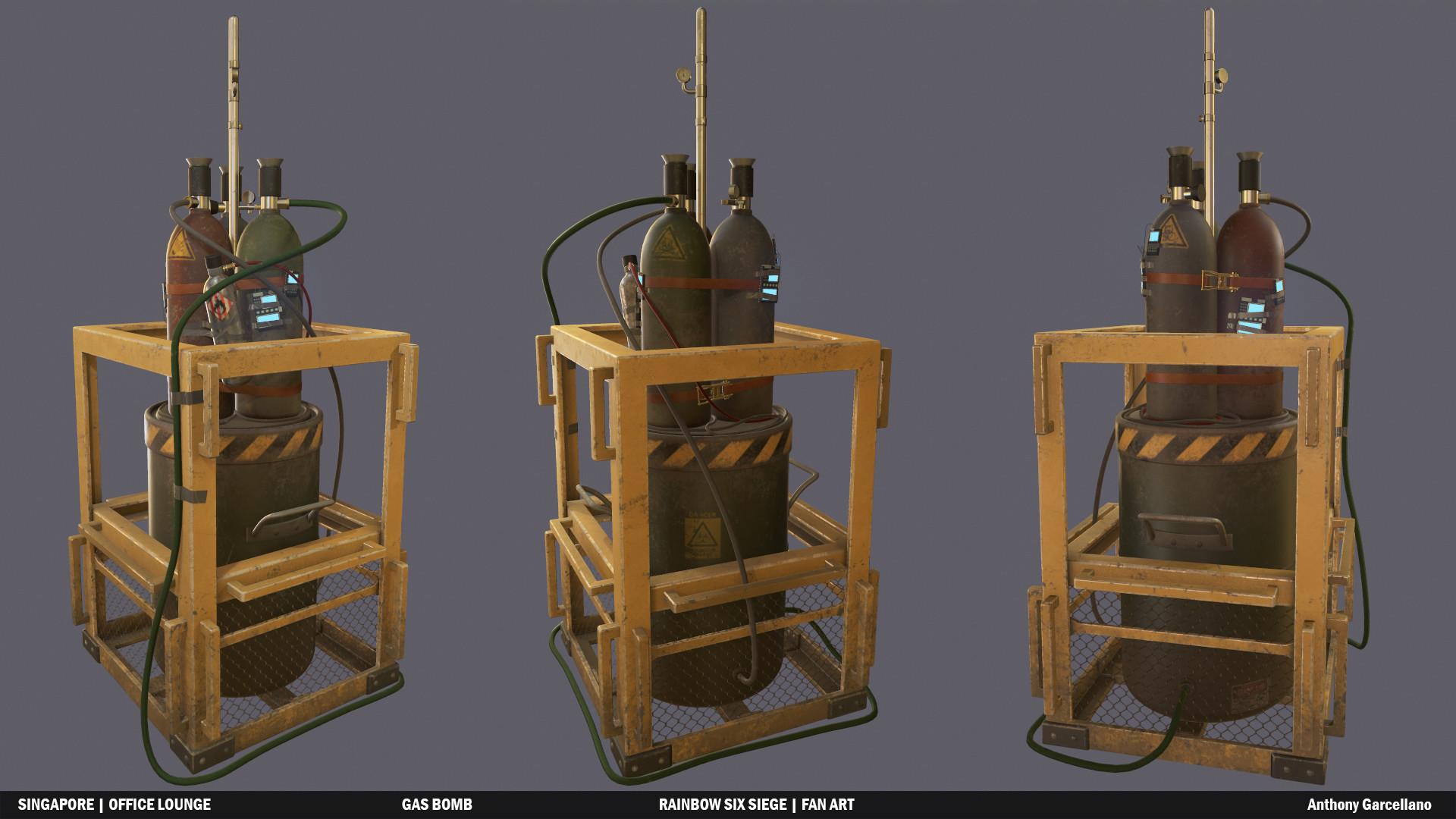 ArtStation - Gas Bomb | Rainbow Six Siege Fan Art, Anthony