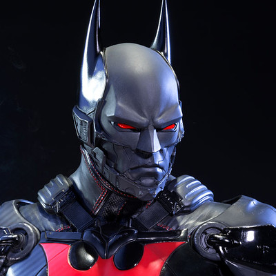Alvaro ribeiro dc comics batman arkham knight batman beyond statue prime 1 studio 902683 16