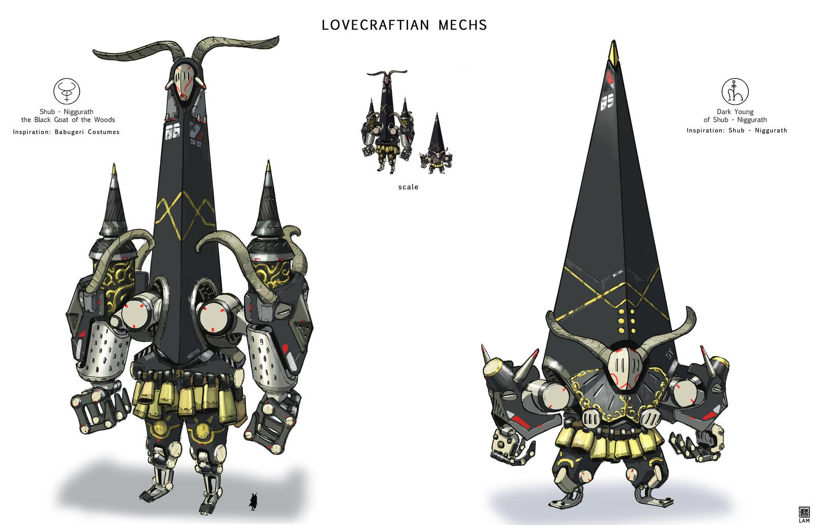 Lovecraftian Mechs