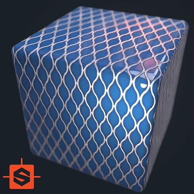 Ole midthun blue tiles icon