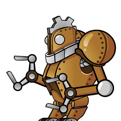 Craig mullins robot attack