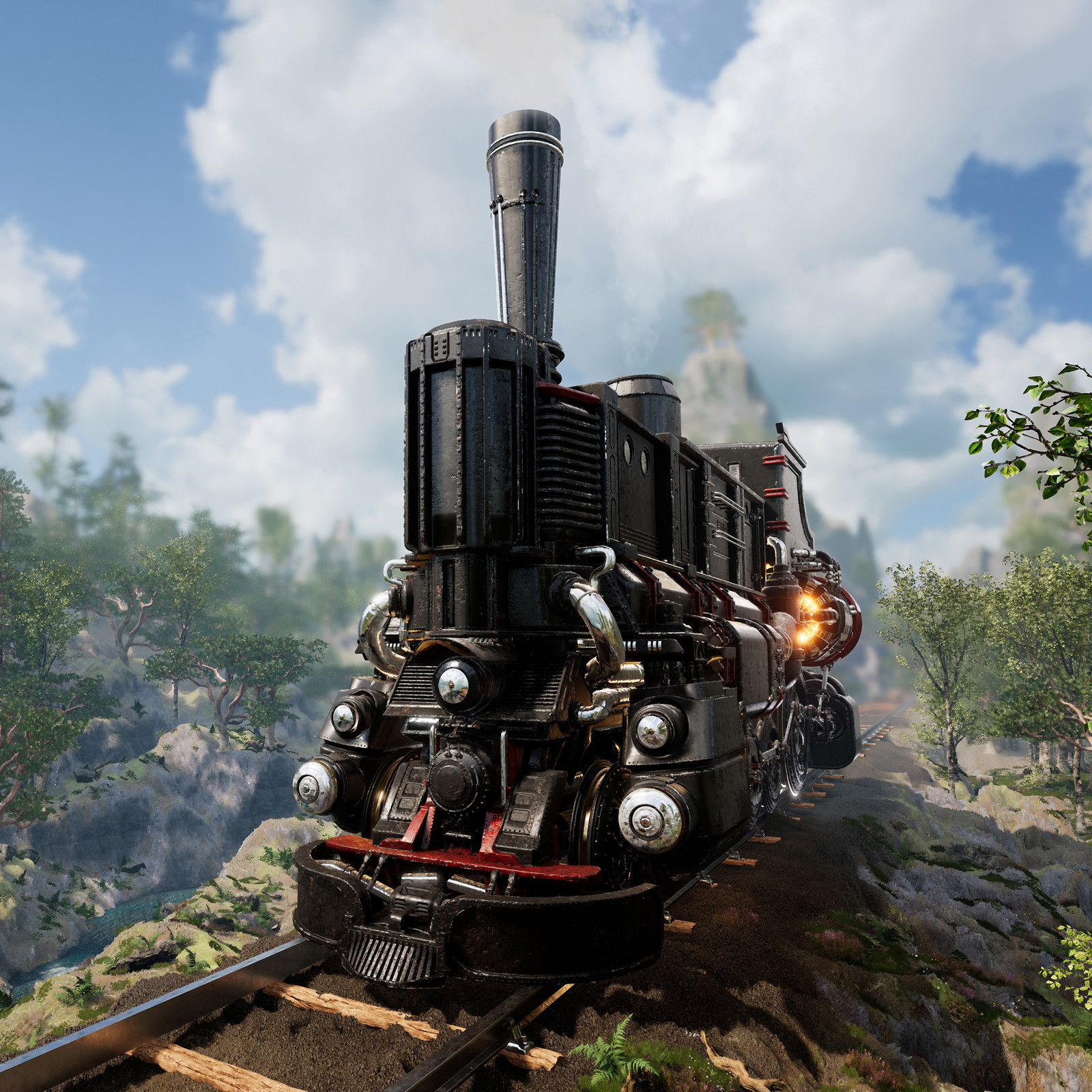 Black Dreadnought Locomotive