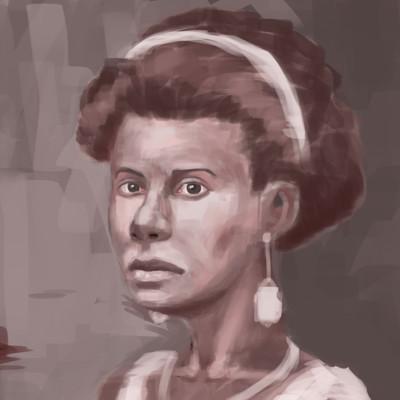 Landry sanou a red portrait 02