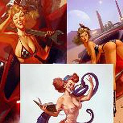 Antonio de luca pin up album2 ridimensionare