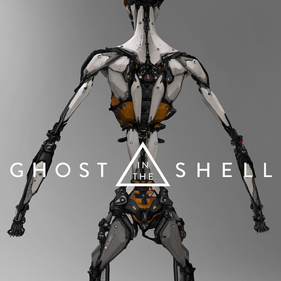 Ghost in the Shell - Early concept work