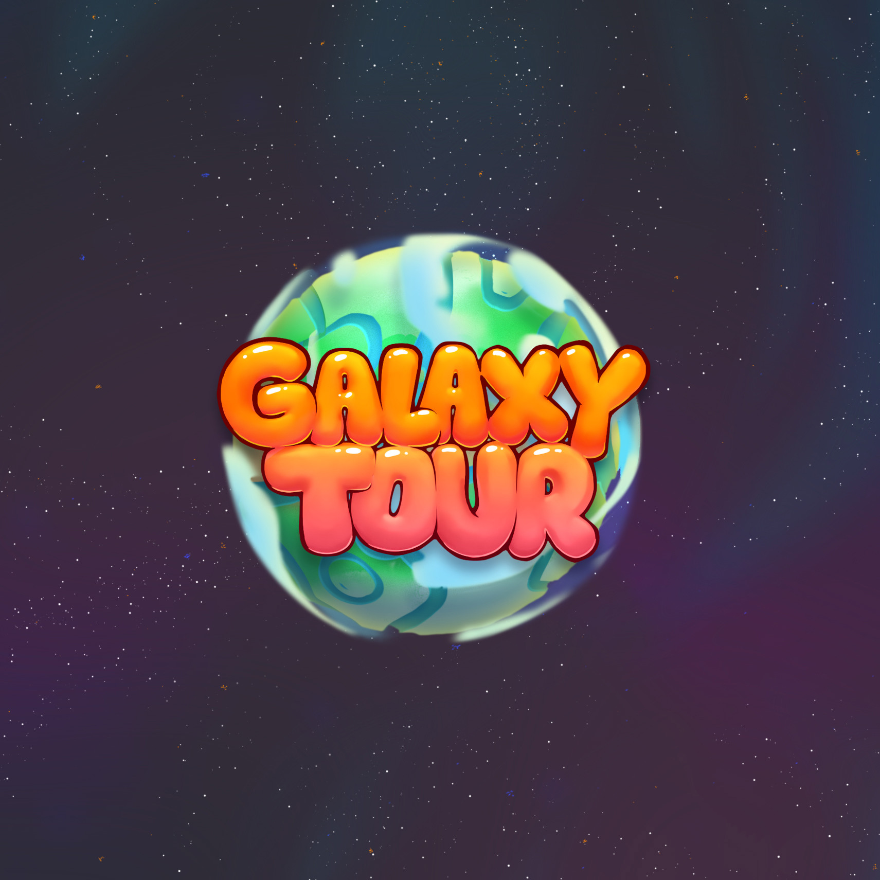 Galaxy Tour Game Art
