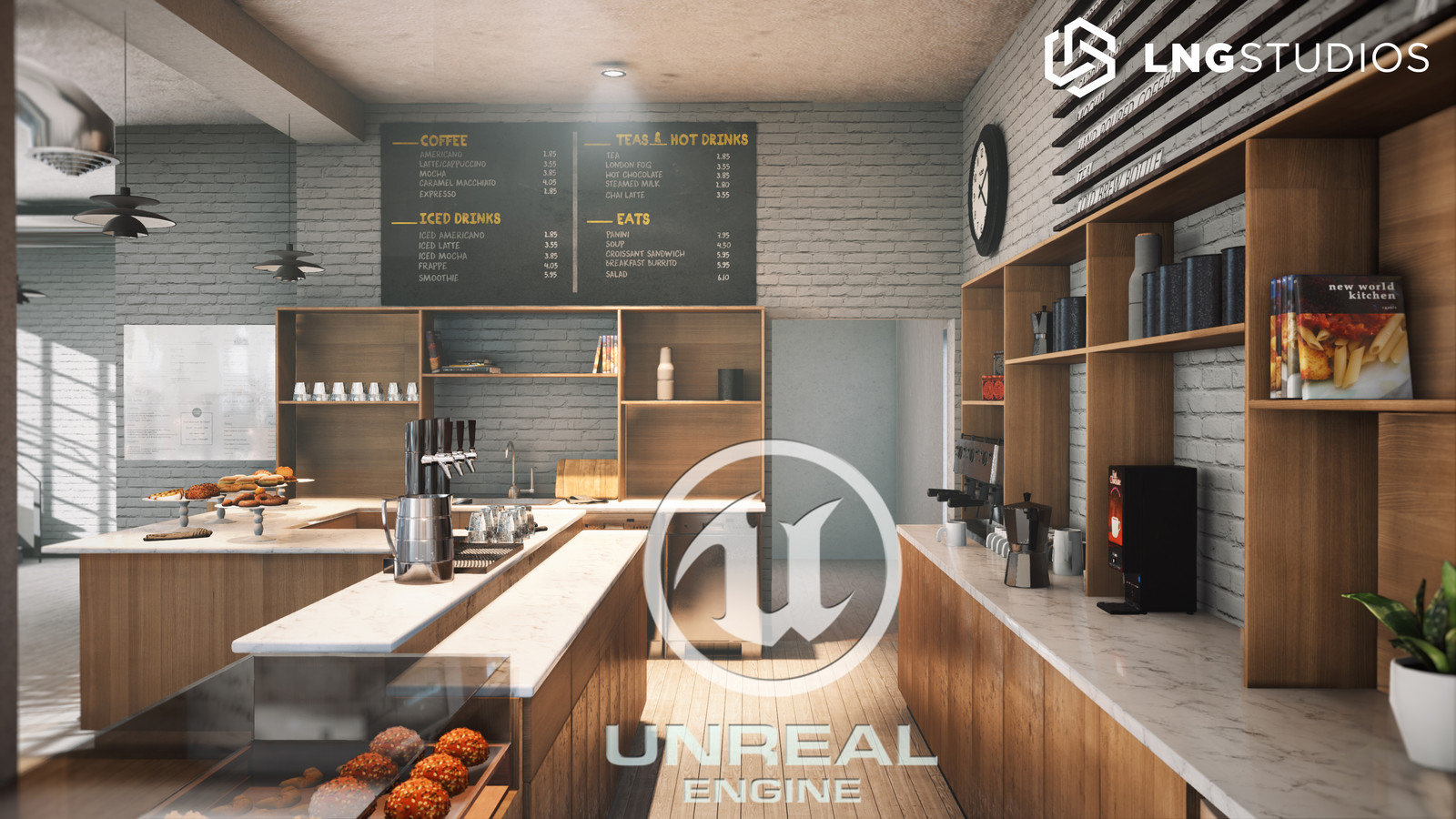 UE4 Cafe